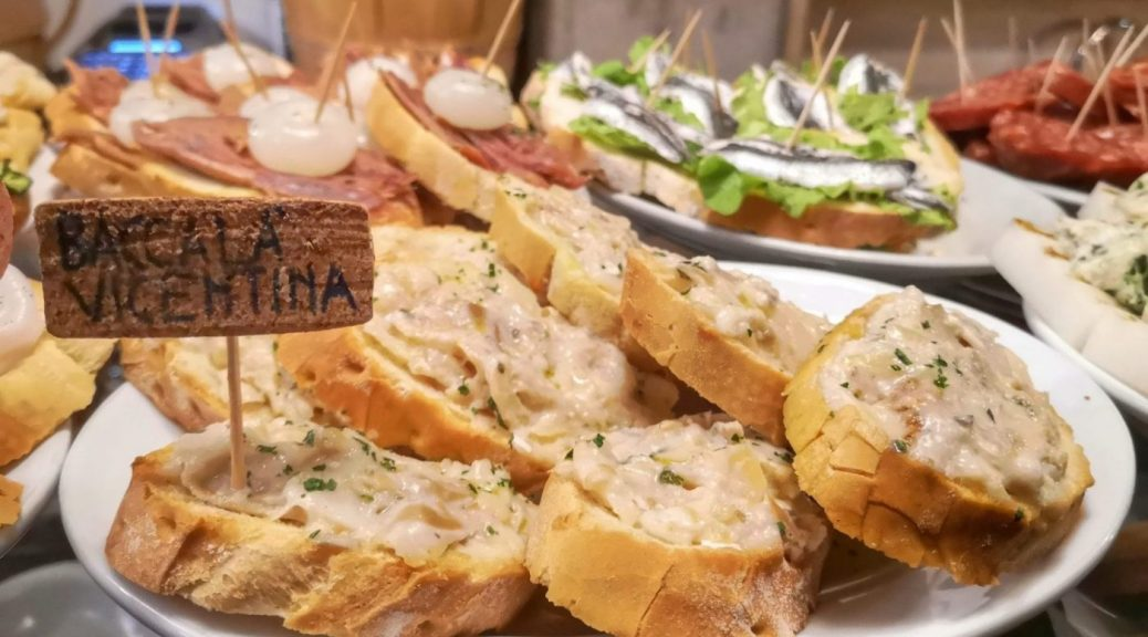 A Plate of Cicchetti - Traditional Food in Venice