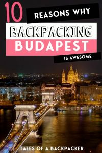 Backpacking in Budapest on a Budget