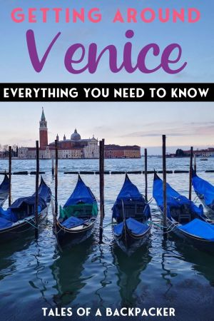 Getting Around Venice Everything You Need to Know