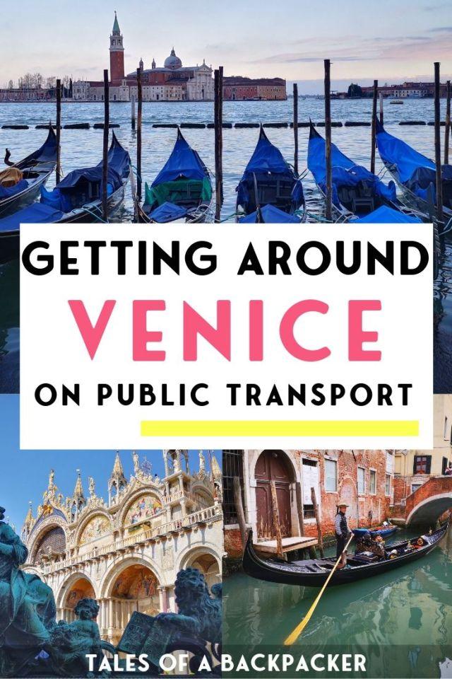 Getting Around Venice on Public Transport
