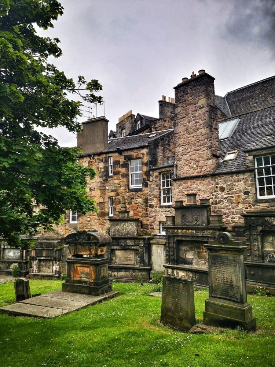 Graves in Greyfriars Kirkyard