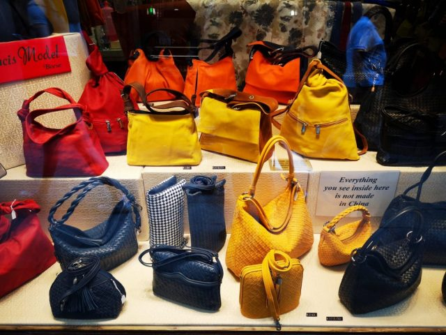 Authentic Italian Leather Handbags made in Venice