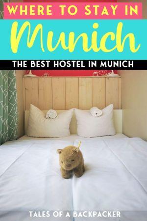 Where to Stay in Munich - The Best Hostel in Munich
