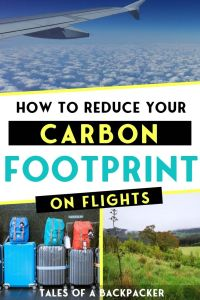 How to Reduce Your Carbon Footprint on Flights