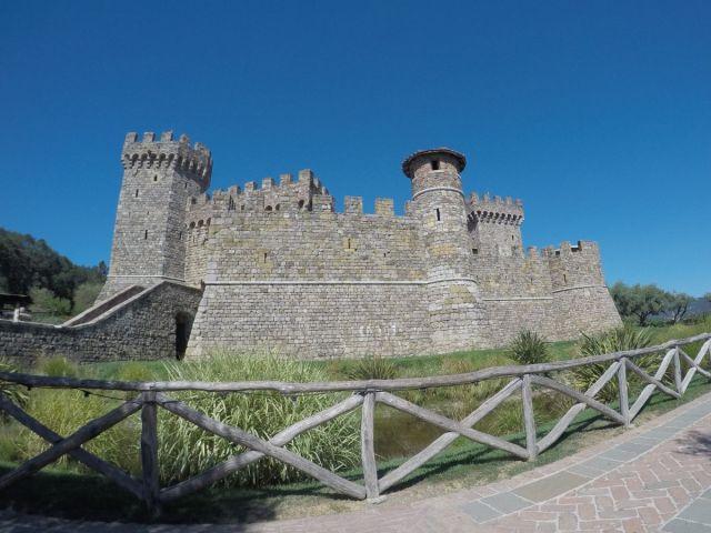Castello di Amorosa in Napa California