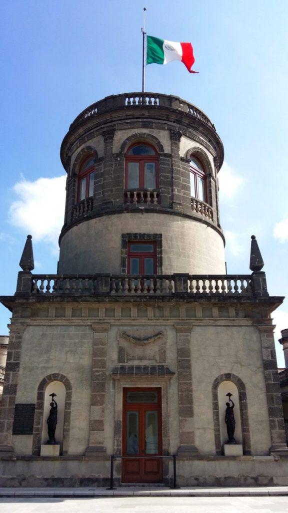 Chapultepec Castle in Mexico City
