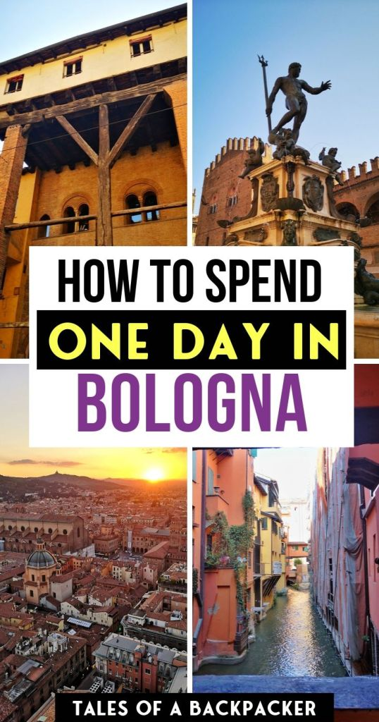 How to Spend One Day in Bologna