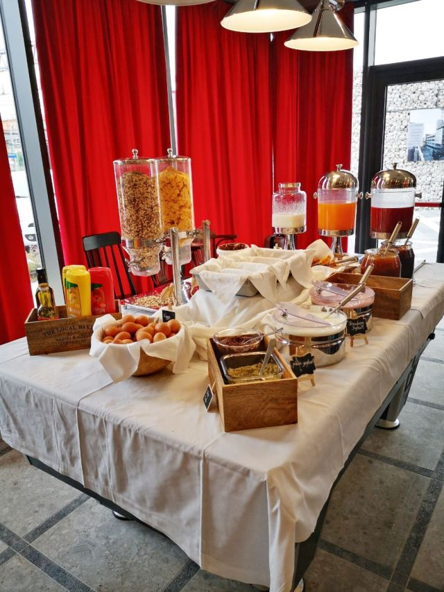 Part of the Breakfast Buffet - The Best Place to Stay in Venice on a Budget