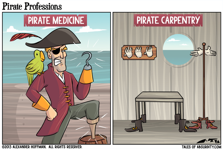 Pirate Professions
