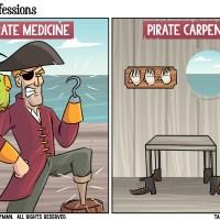 Pirate Professions