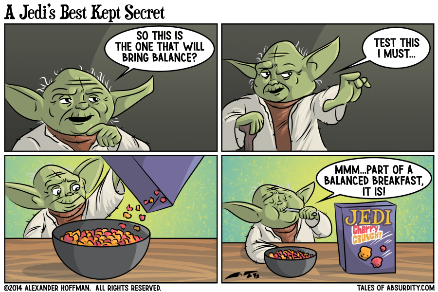 A Jedi's Best Kept Secret