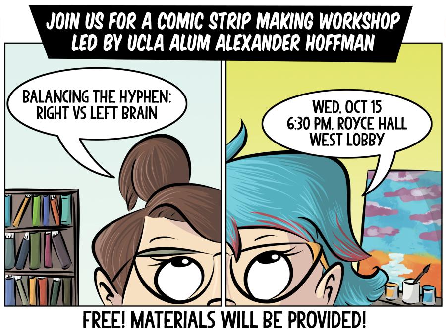 UCLA Comic Workshop on October 15