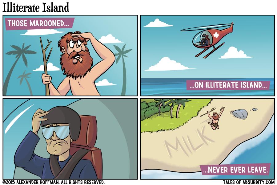 Illiterate Island