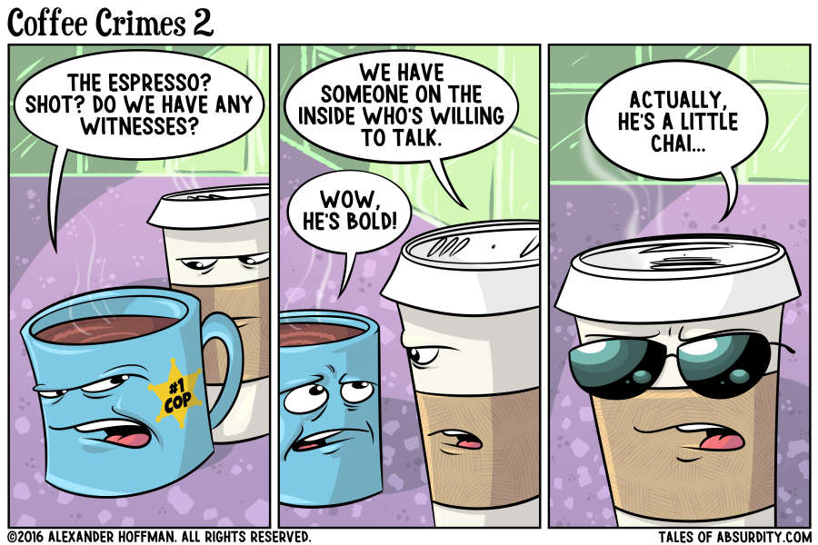 More Crime and Pun-ishment!
