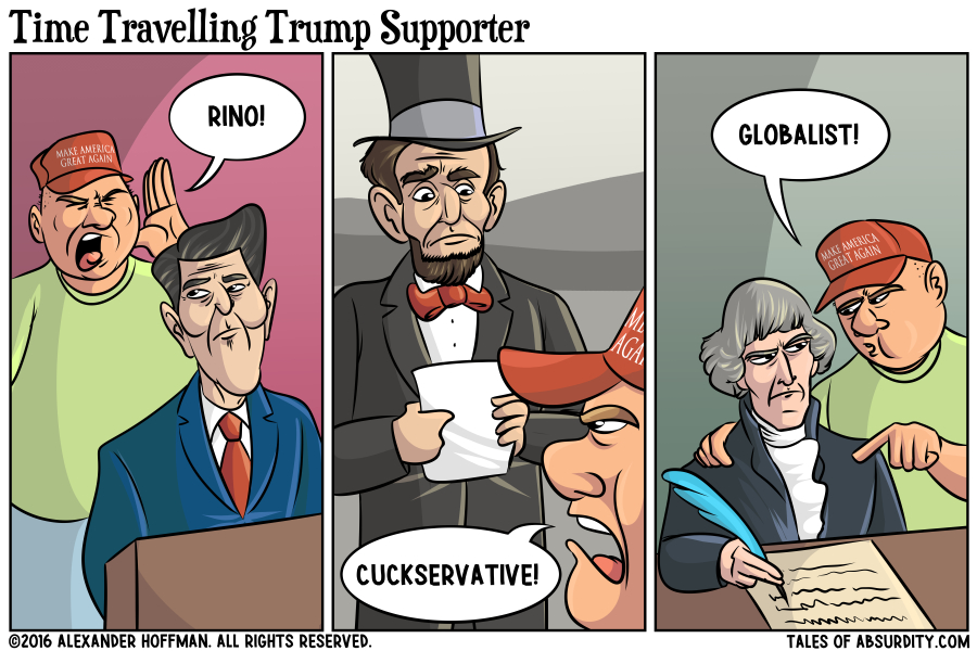 Time Travelling Trump Supporter