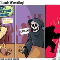 Ultimate Thumb Wrestling