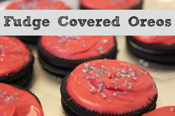 chocolate fudge oreos