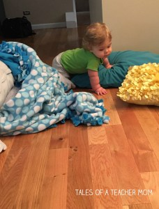 Crawling obstacle course 5