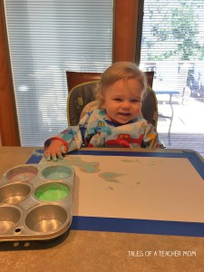 Edible Finger paint 3
