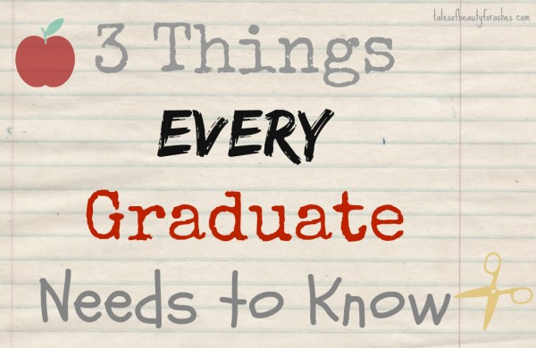 3thingseverygraduateneedstoknow