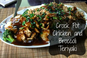 Crockpot Chicken and Broccoli Teriyaki