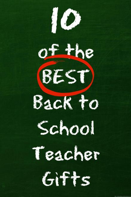 Best back to school teacher gifts