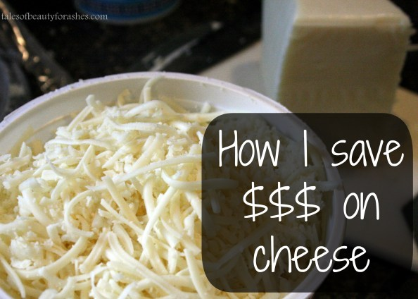 How I save money on cheese