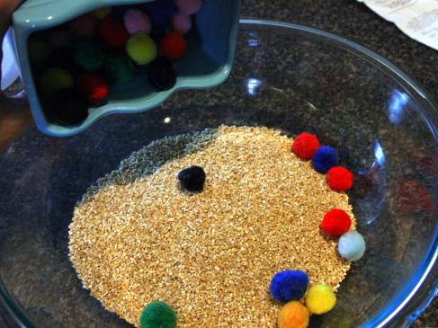 Oatmeal toddler activity1