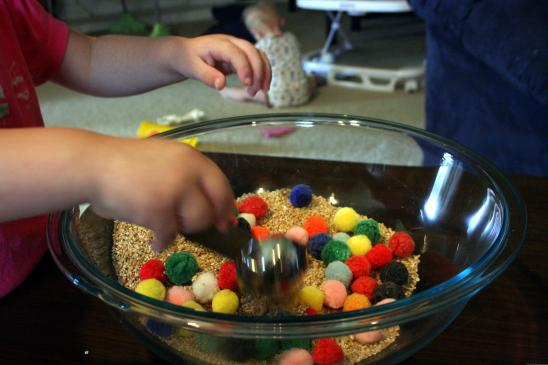 Oatmeal toddler activity4