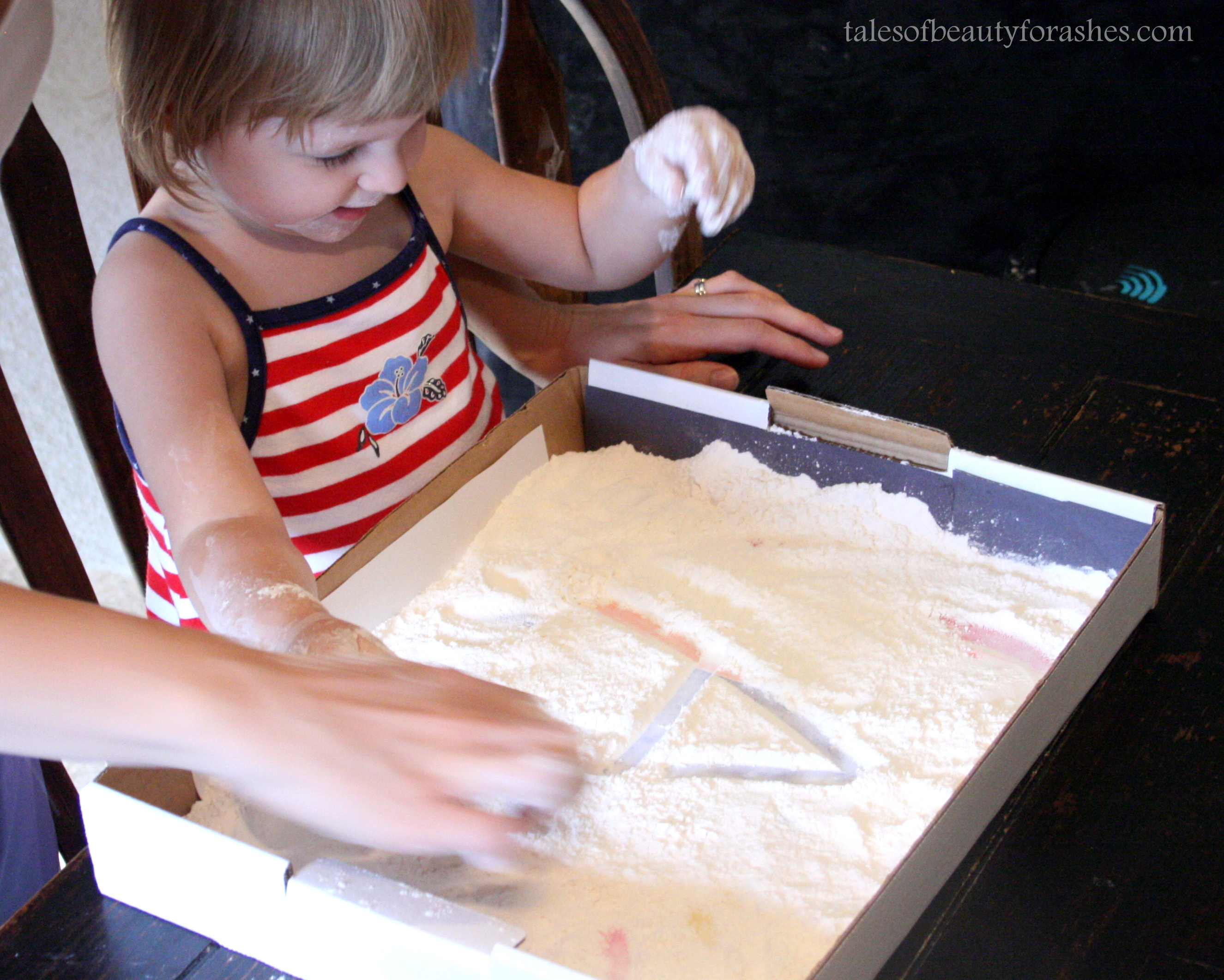 Rainbow Writing For Toddlers