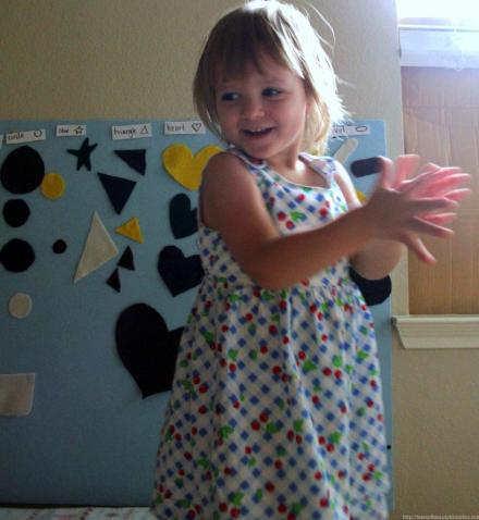 Toddler Shape Sorting Activity