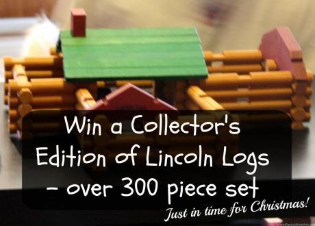 Lincoln logs giveaway