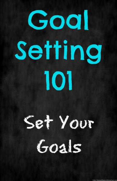 Setting goals that you can actually achieve, it is totally doable!