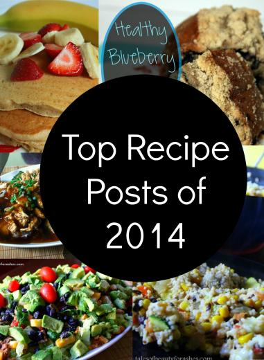 Here a just a few of the best recipes from this year!