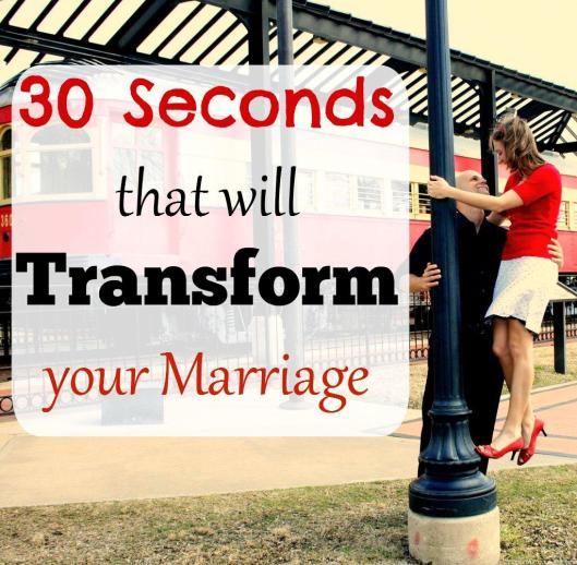 All marriages start feeling a little dull after a while. Spice it up with this one simple trick. Only takes 30 seconds out of your day!