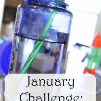 Monthly Health Challenge: Drink More Water this month. Do you get enough water? Did you know water could help you loose weight? Try the challenge and see what happens!