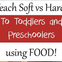 Teach your kids the difference between soft and hard in a fun, interactive way!