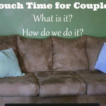 Couch time is so essential to stay connected in marriage. It's too easy to neglect. Are you doing this or something similar in your marriage to stay connected?
