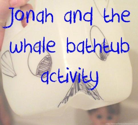 This is such a cute idea for teaching kids the story of Jonah!