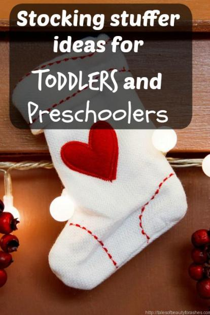 These are some of the best NON candy ideas for preschoolers and toddler's stockings!