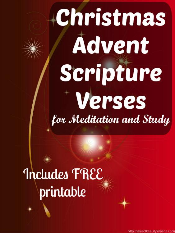 Christmas Advent Scripture Verses. This Is A Great Way To Stay Focused On  The Real