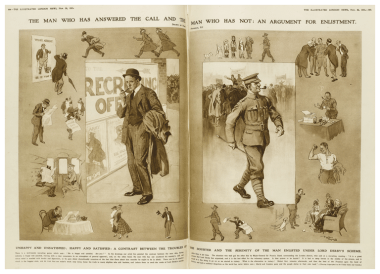 ILN During WWI: Sacrifice and support for World War One