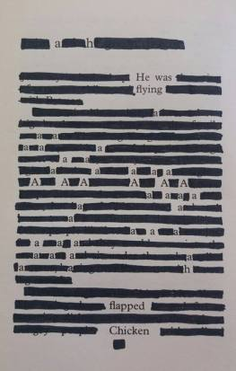 Craigmillar Library - erasure poems and stories