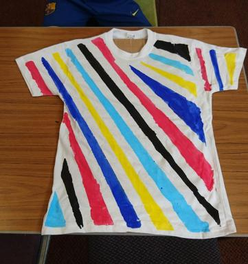 Moredun Library - Dazzle t-shirt design workshop