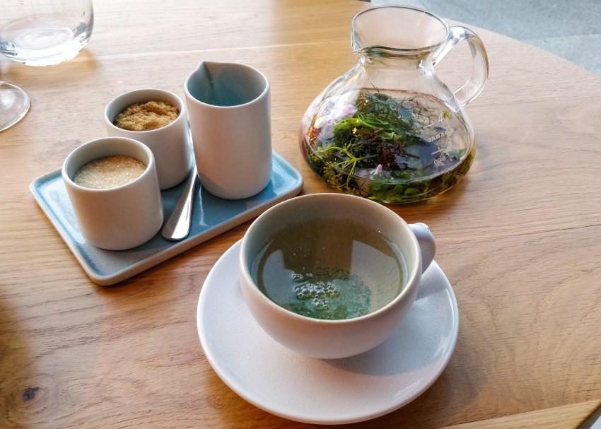 Herbal tea @ restaurant Pure-C
