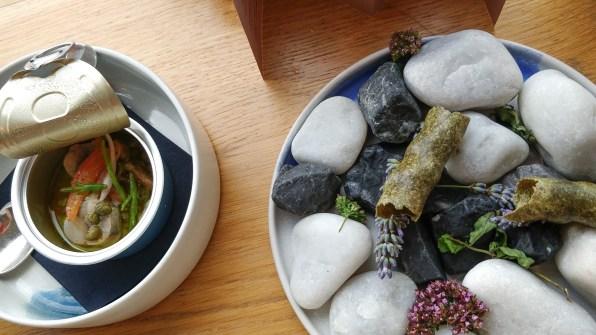 North sea charcuterie @ restaurant Pure-C