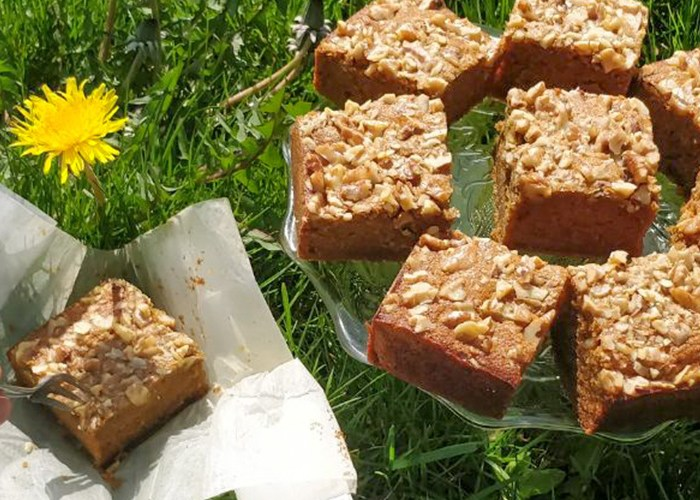 Nutty Banana, (not)Coffee, Ghee cake Recipe