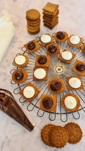 Homemade S'mores Sandwich Cookies recipe