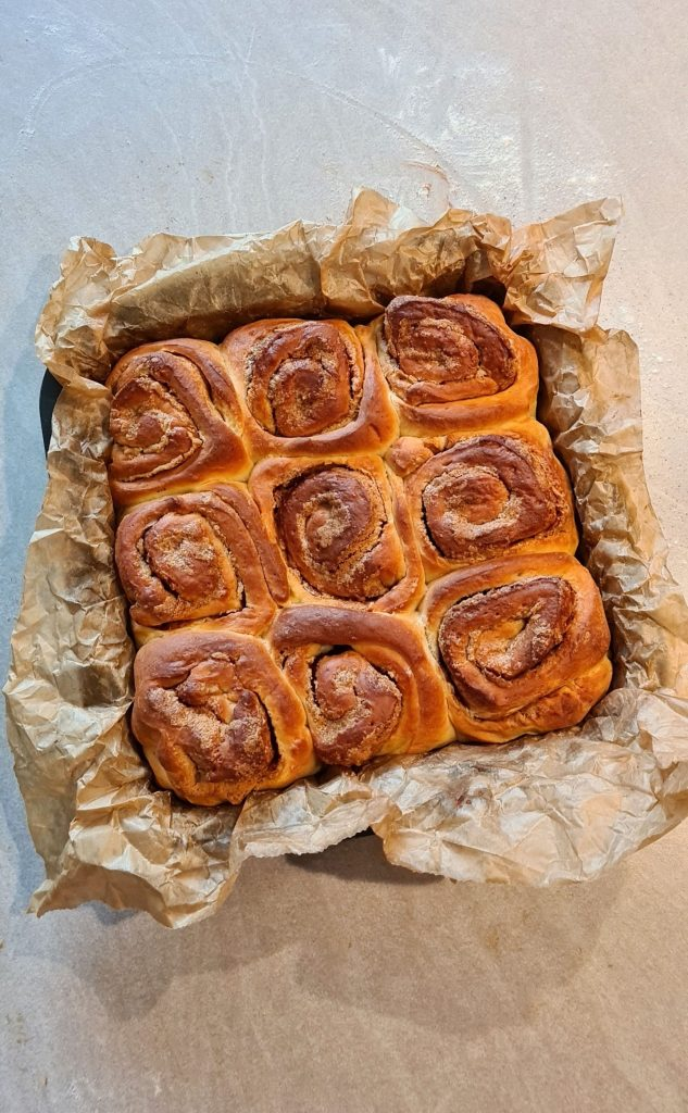 Speculoos Cookie Butter Buns rolls baked