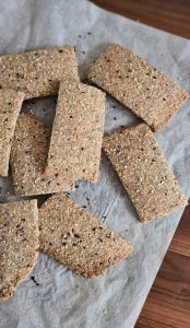 Recipe Easy multigrain seed crackers